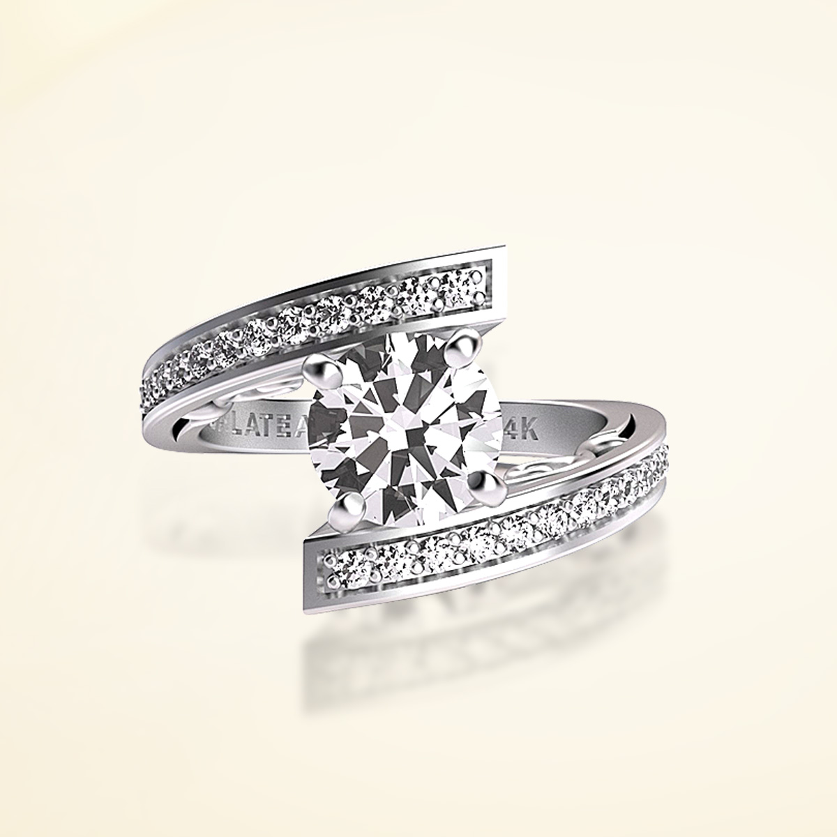 Princess Collection Diamond Wedding Band